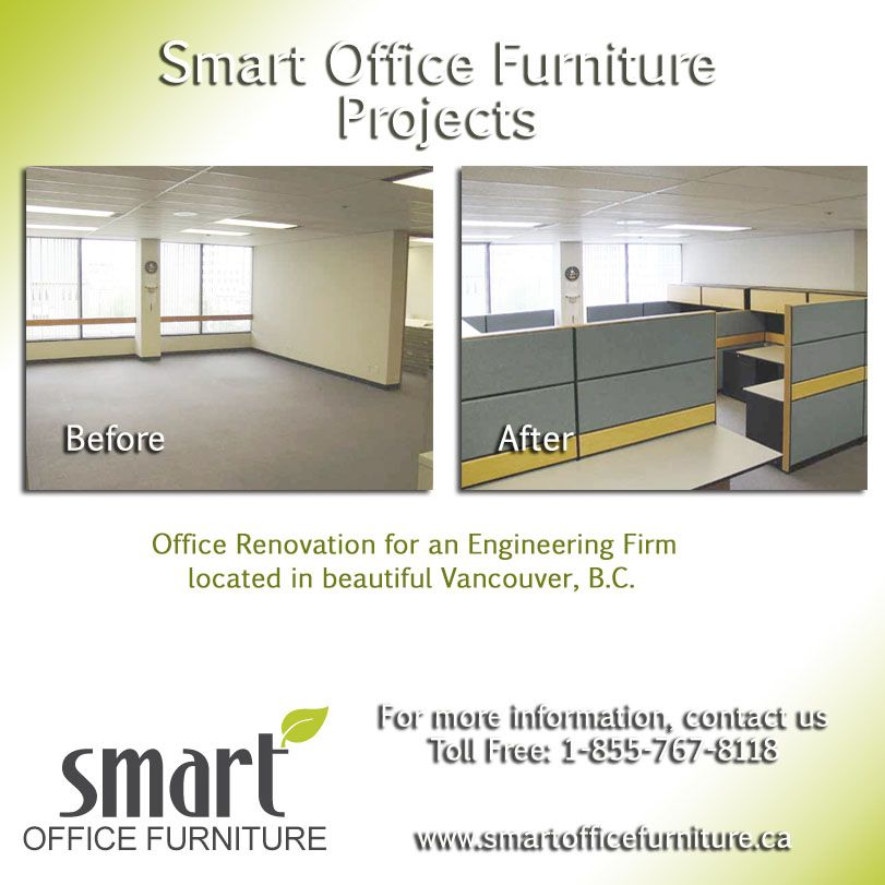 Smart Office Furniture Project: Constructed 40 Custom 36