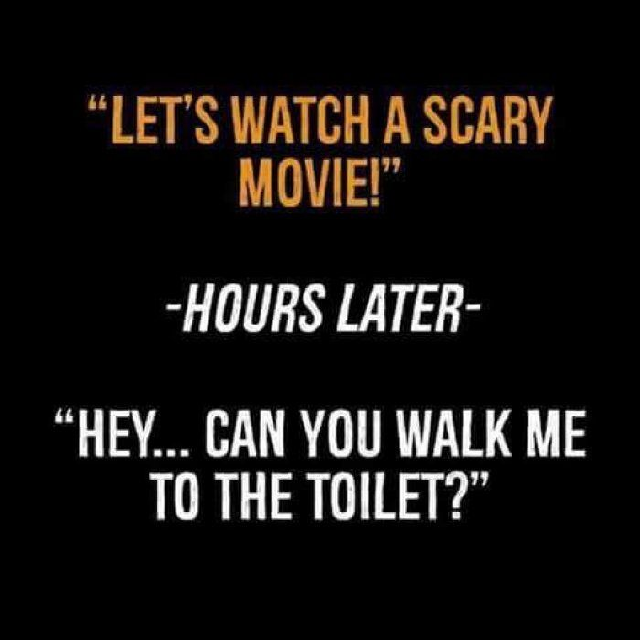 Horror Movie Quotes Lets watch a scary movie   quotes | Can't Stop Laughing | Funny  Horror Movie Quotes