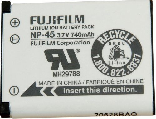 Fujifilm NP-45 Lithium Ion Rechargeable Battery for Fuji Z J