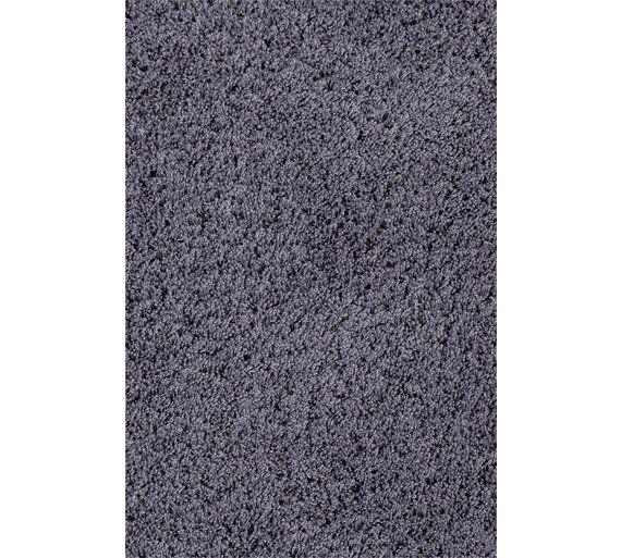 Colourmatch Snuggle Shaggy Rug 160x230cm Flint Grey At Argos Co Uk