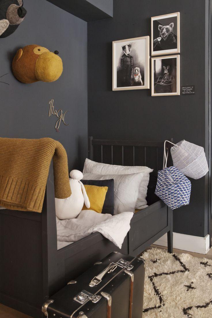 A Pop Of Mustard Kid Room Decor Kids Room Grey