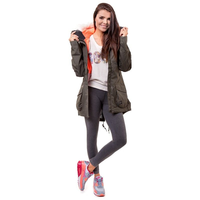 Nike Kurtka Sb Hudson Parka Cena 500 Zl 615762325 Damskie Kurtki Zimowe Parka Military Jacket Fashion