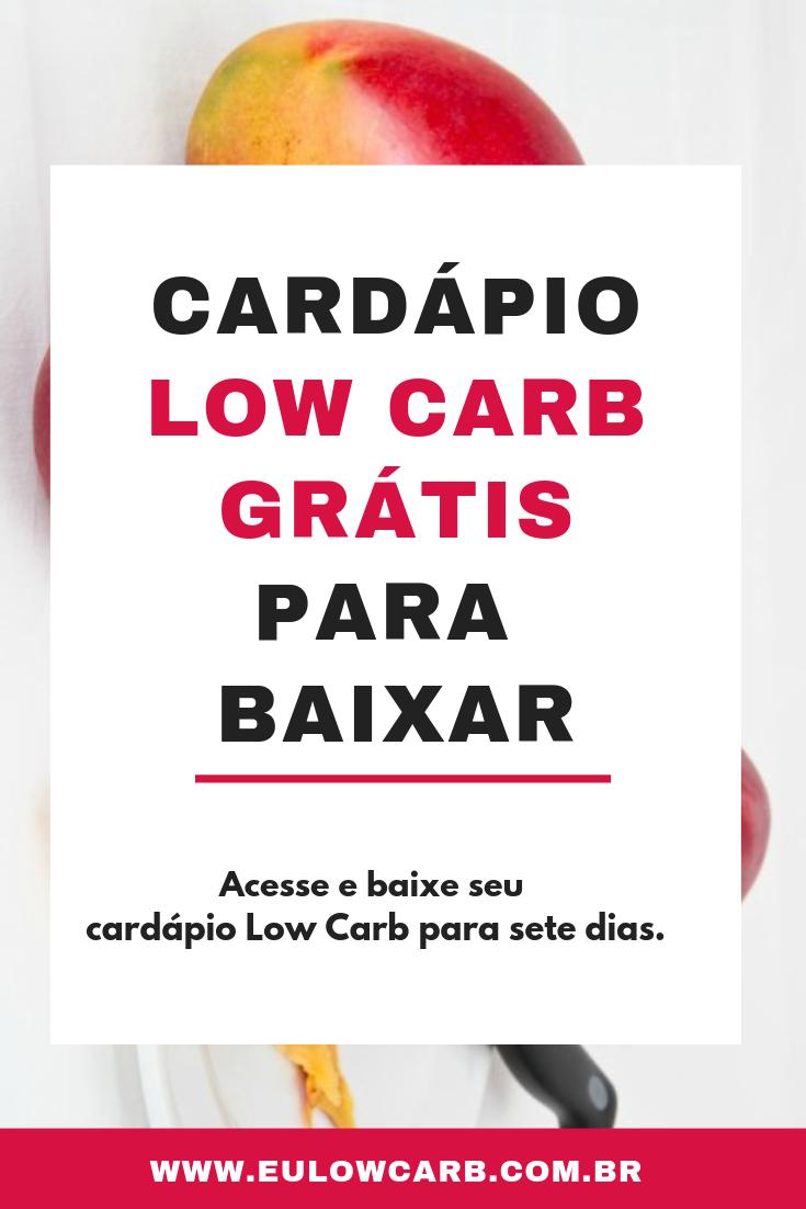 livro dieta low carb pdf gratis