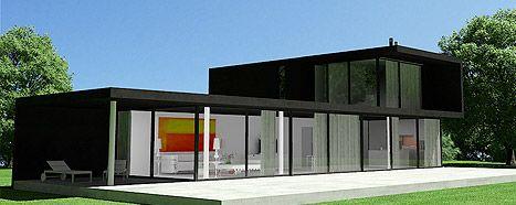 Casas prefabricadas de dise o viviendas modulares for Casas pequenas prefabricadas de hormigon