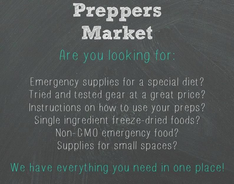 Are you looking for: Emergency supplies for a special diet? Tried and tested gear at a great price? Instructions on how to use your preps? Single ingredient freeze-dried foods? Noon-GMO emergency food? Supplies for small spaces? We have it all!