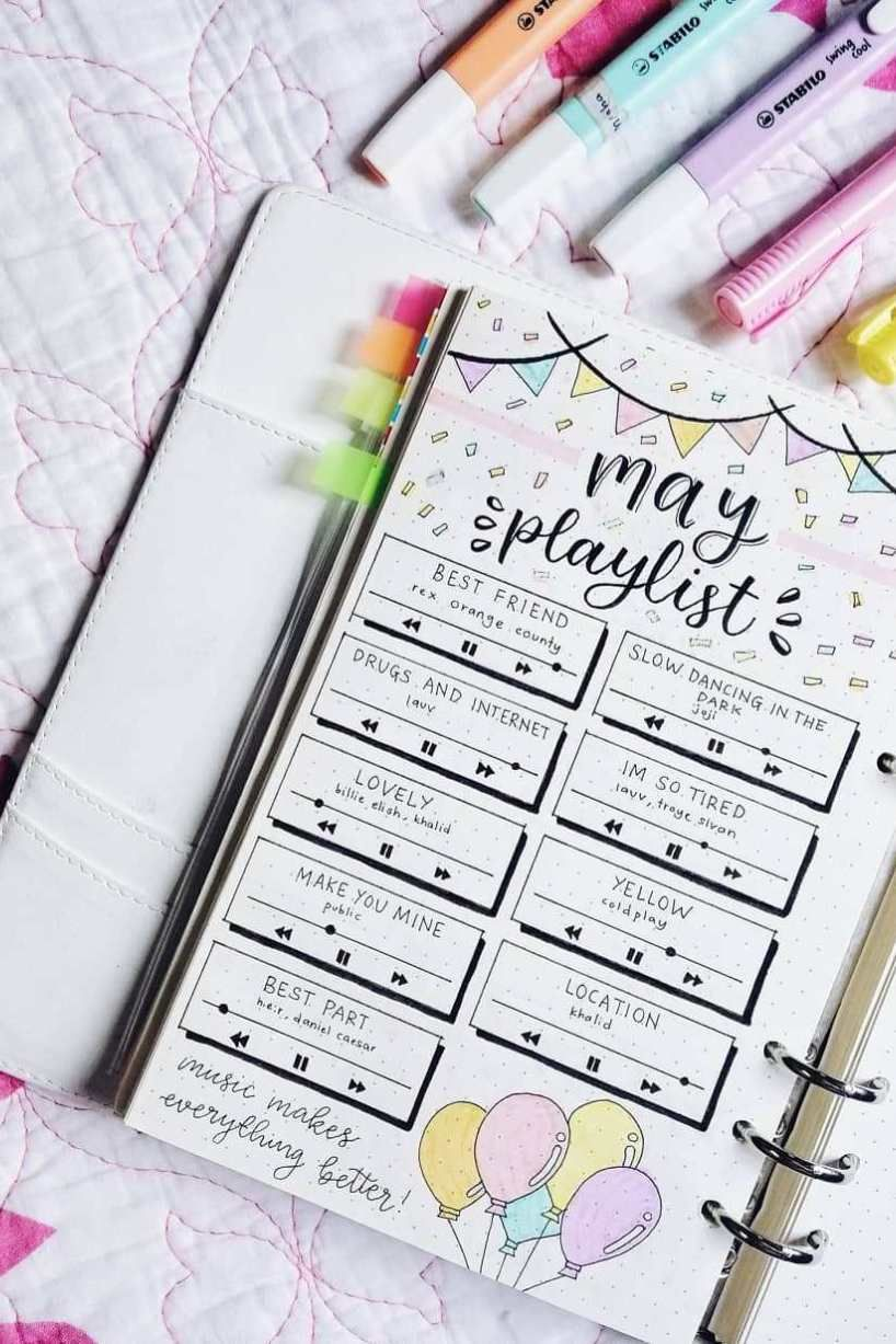 32+ Bullet Journal Inspiration (For Your Best Year Yet) - Captivating Crazy