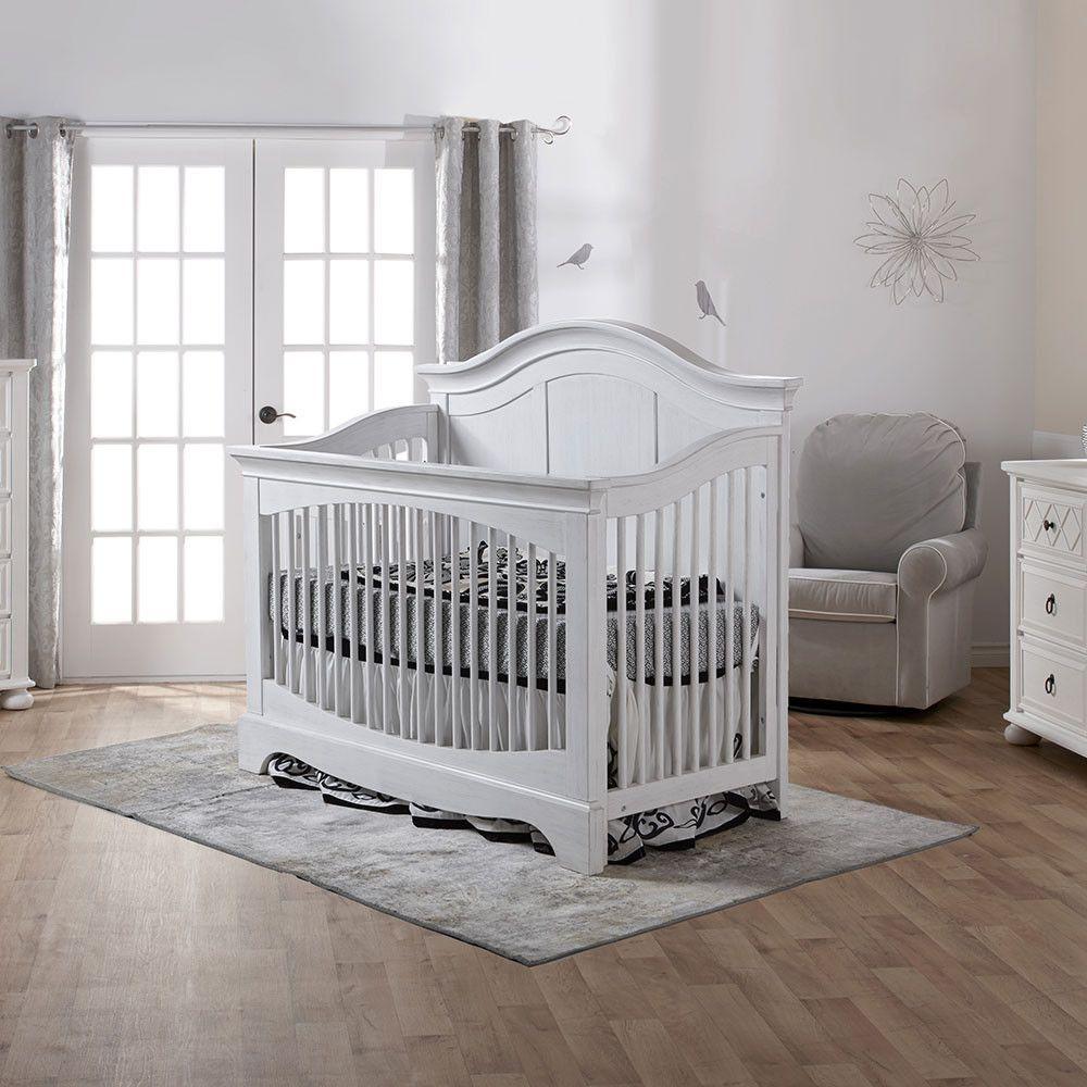 Pali Enna Convertible Crib In Vintage White Cribs Convertible