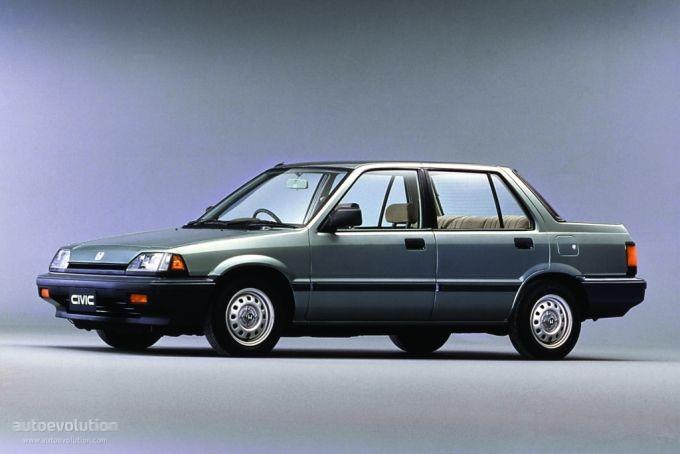 Honda Civic Sedan 1987 1988 1989 1990 1991 Honda Civic Sedan Civic Sedan Honda Civic