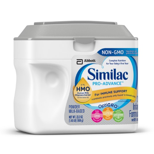 Similac Pro Advance Non Gmo Infant Formula With Hmo Immune Support Powder 23 2 Ounces Baby Formula Similac Nutrition