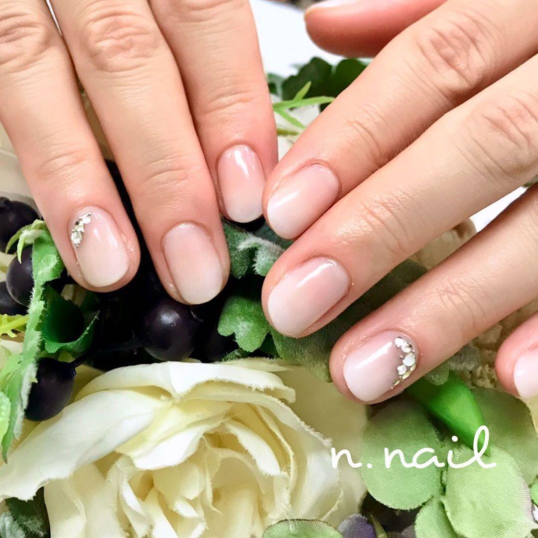 今日のブライダルネイル💅 お幸せに💕 #nail #nailartist #weddin…