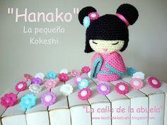 Crochet Pattern Doll : Amigurumi kokeshi doll free crochet pattern tutorial