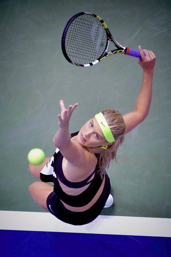 Player bouchard tennis female