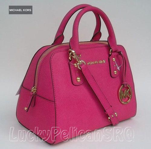 Michael Kors Hot Pink Handbag Loving It