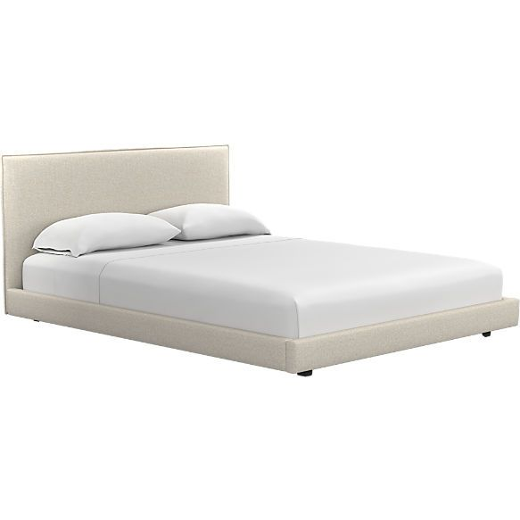 7152310f32ef façade queen bed (mattress sold separately). shown in Hanson, Almond