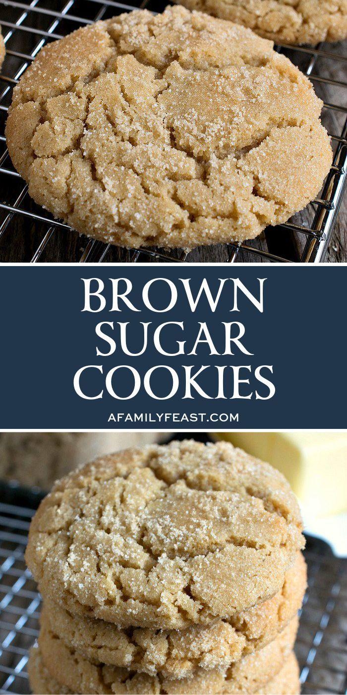 Brown Sugar Cookies-#Brown #Cookies #Sugar #sugarcookies