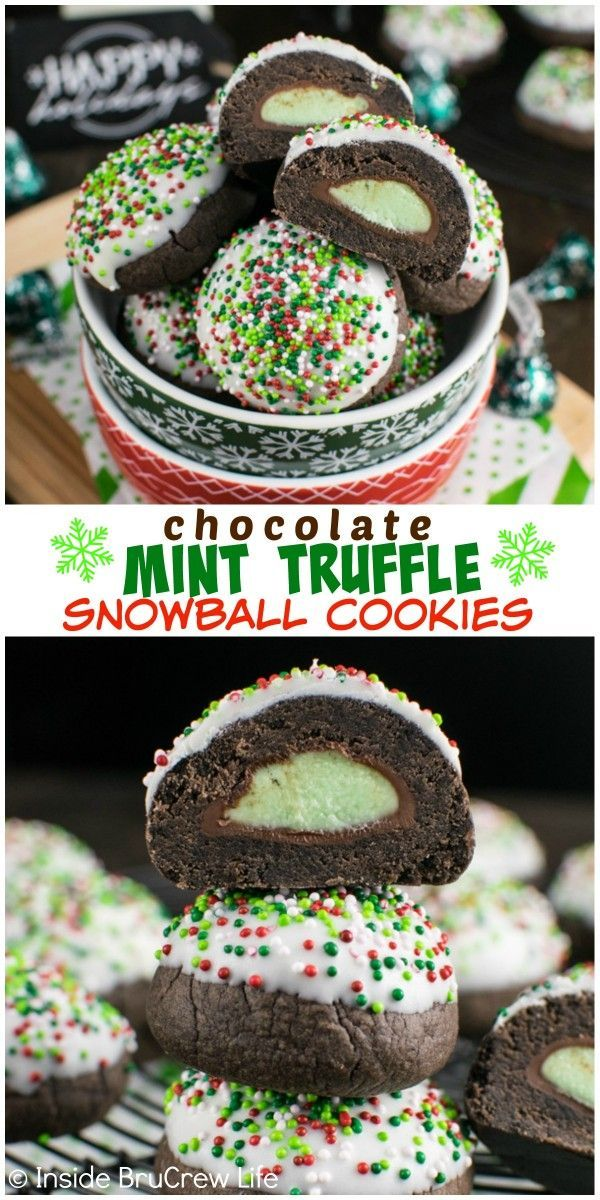 Colored Sprinkles And White Chocolate Hide The Hidden Mint Candy