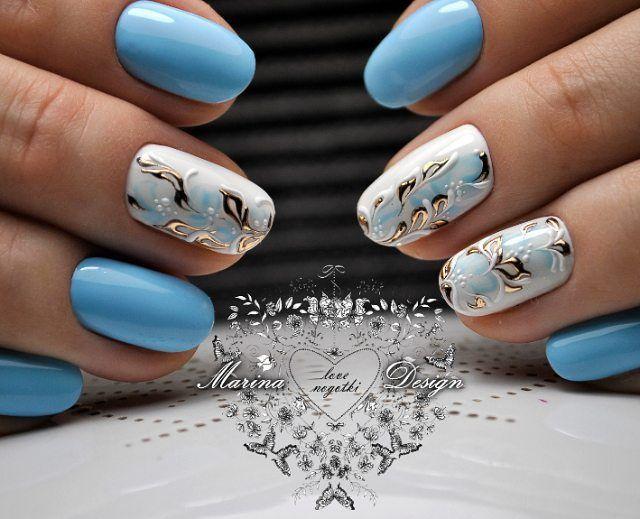 Ногти Дизайн Французский Маникюр Фото Новый