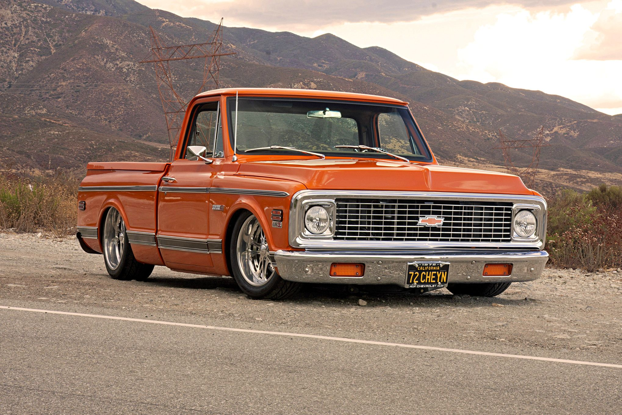 Photo Feature On A 1972 Chevy Cheyenne Truck 72 Chevy Truck