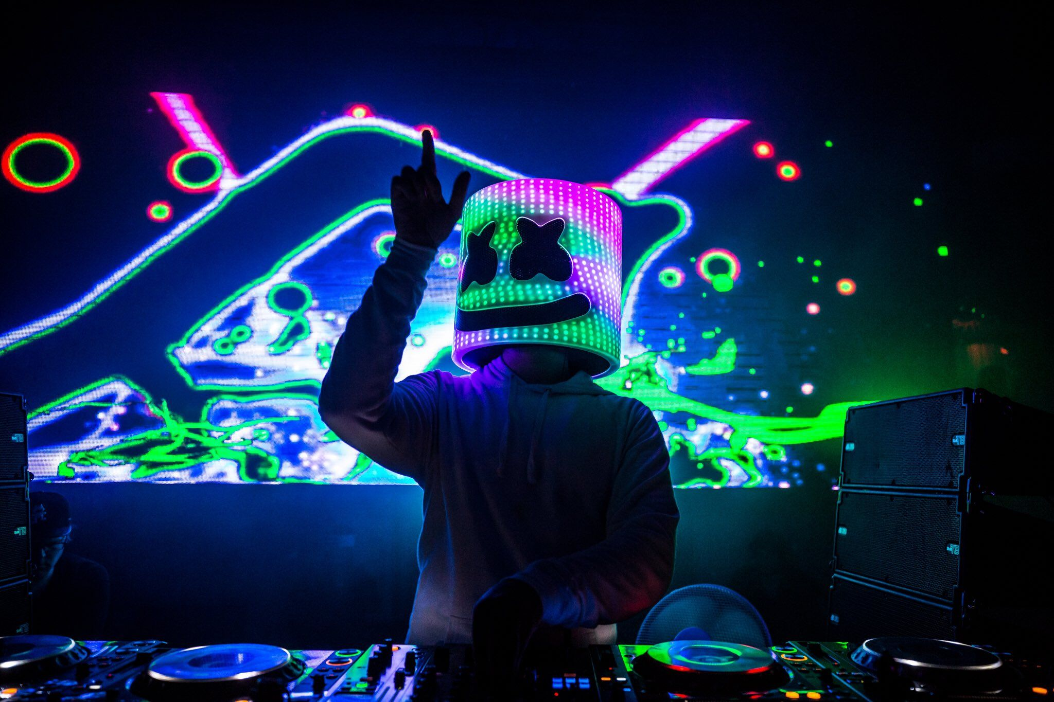 Marshmello Dj Hd Marshmello Dj Wallpapers Fondos De Pantalla De