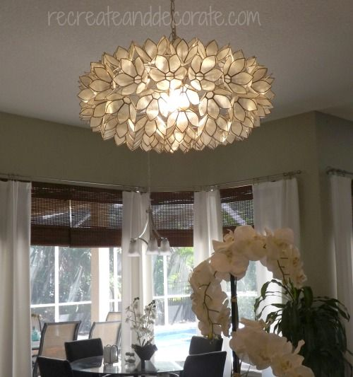 My One Of A Kind Chandelier Funky Kitchen