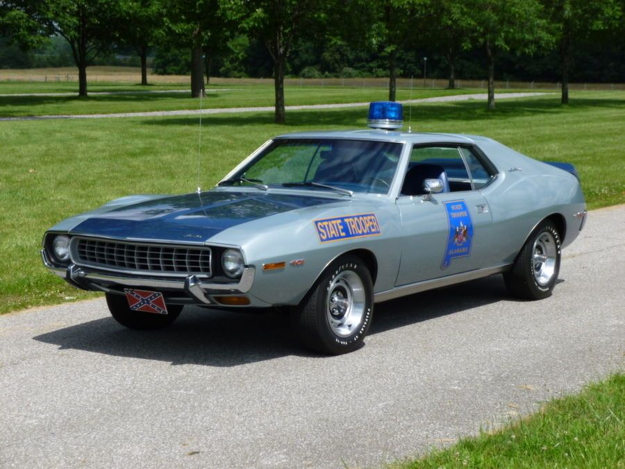 1972 AMC Javelin - Alabama State Trooper (replica) | Blue Lights ...