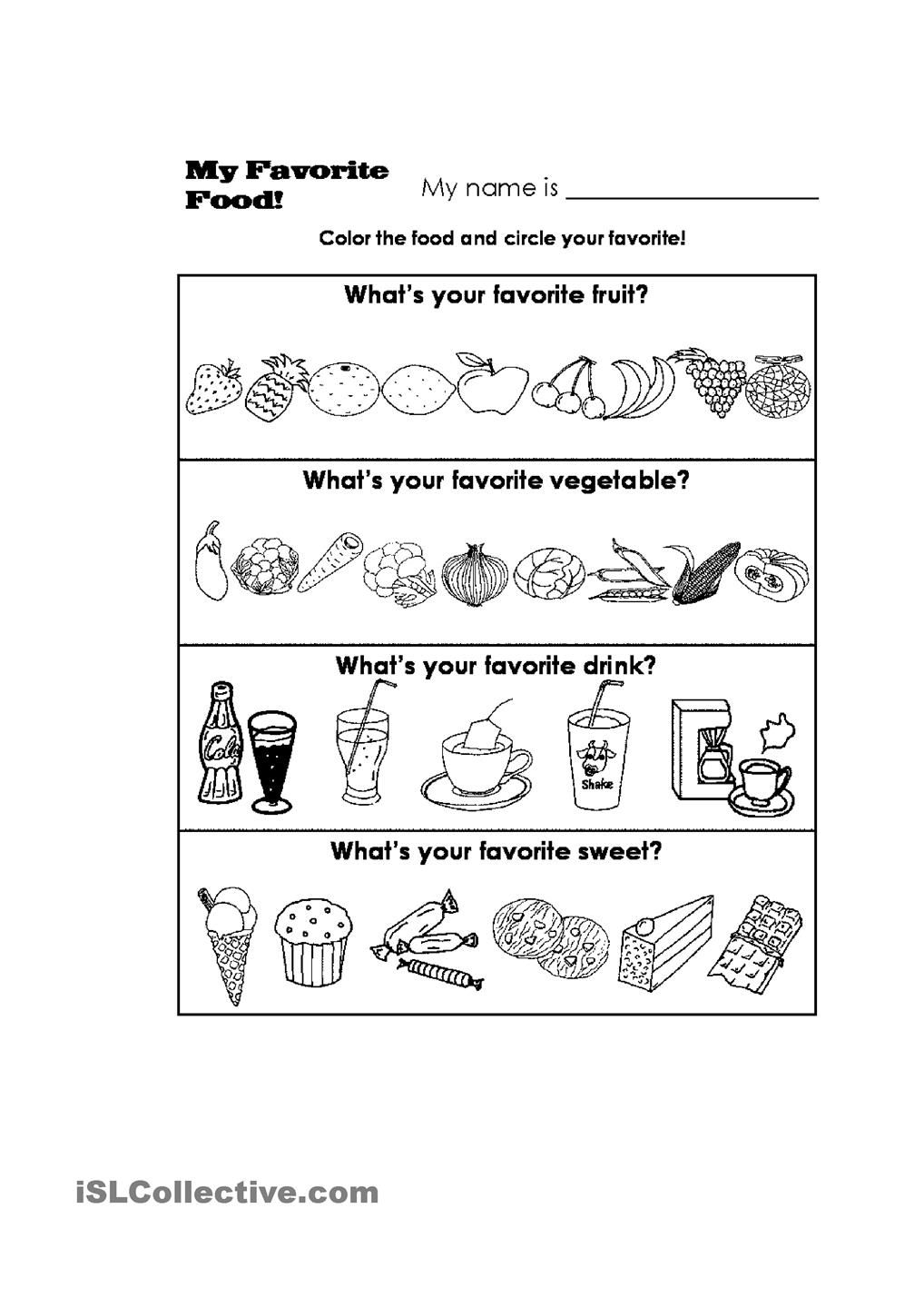 Healthy Food worksheet - Free ESL printable worksheets made by teachers