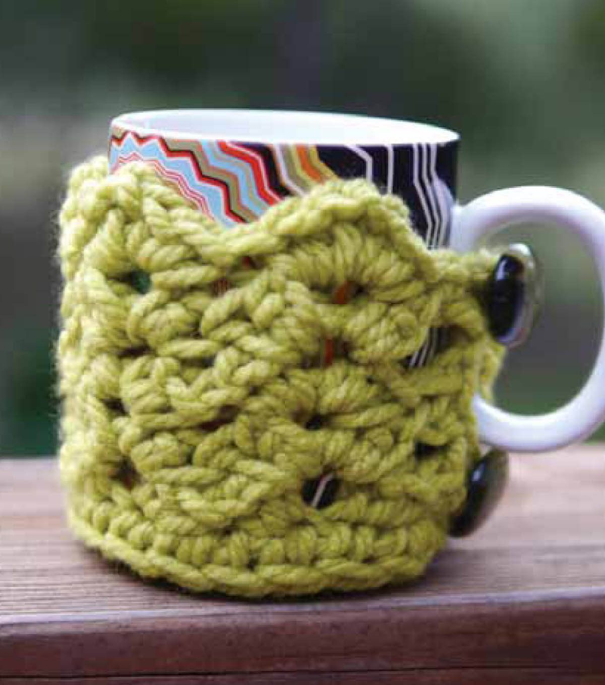 Love this #crochet cuppa coffee cozy :) #craft your own, too ...