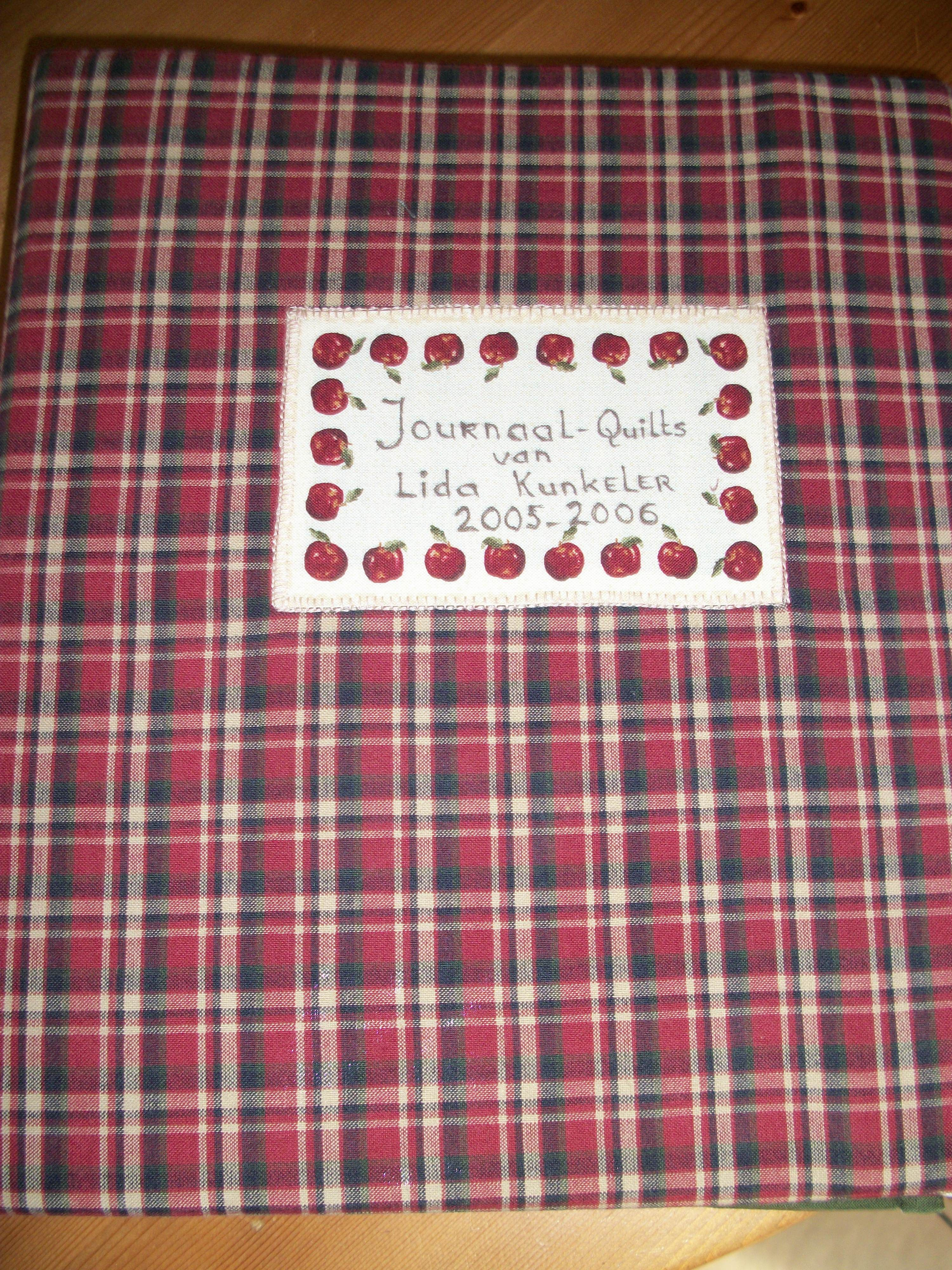 Book with diaryquilts