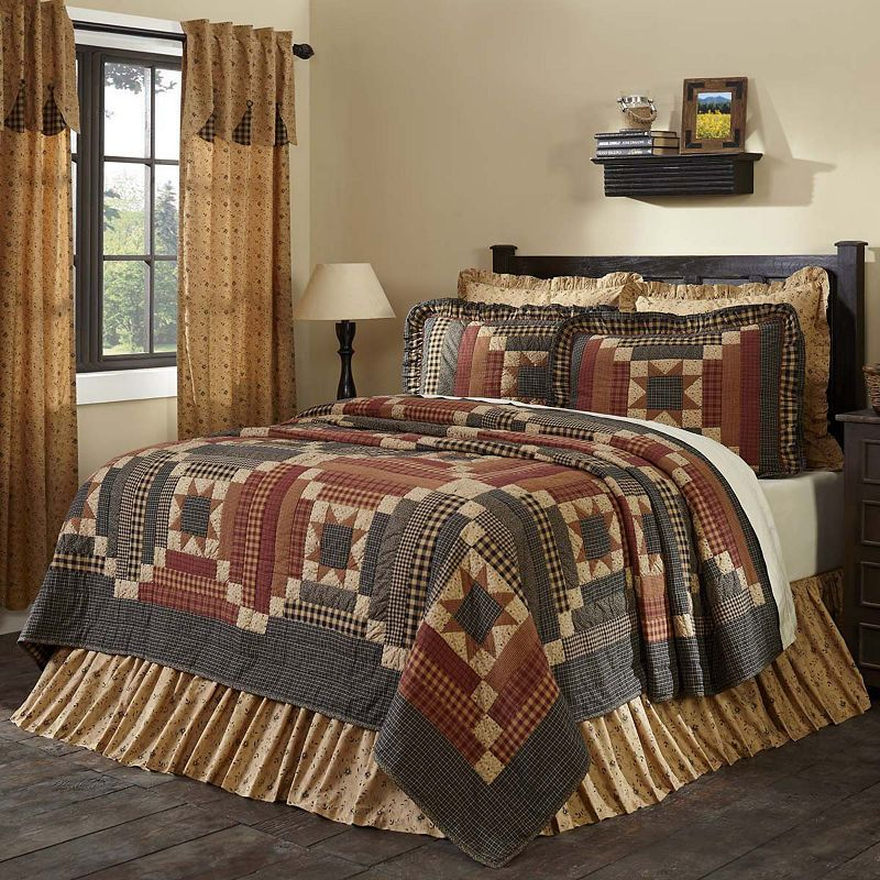 VHC Classic Country Primitive Bedding Maisie Quilt