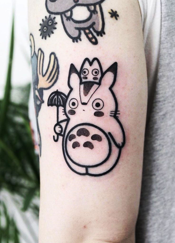 20 Best Anime Tattoo Ideas And Designs For You Instaloverz Hugo Tattooer Anime Tattoos Cute Tattoos