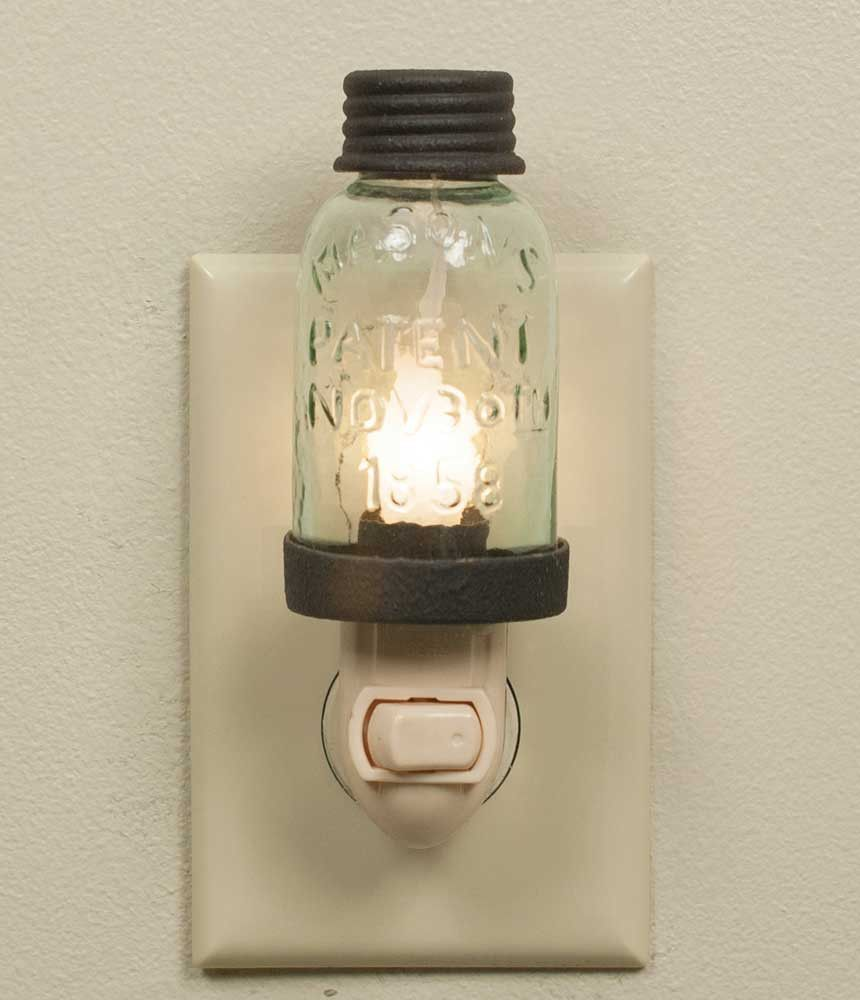Photo of Mason Jar Night Light