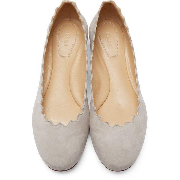 Lauren ballerina flats - Grey Chloé JixIk