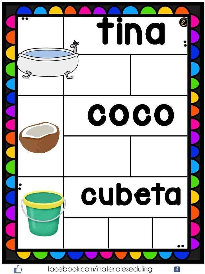 Pin By Azaliah Hernandez On Silabas Bilingual Education Language Resources Spanish Language Arts