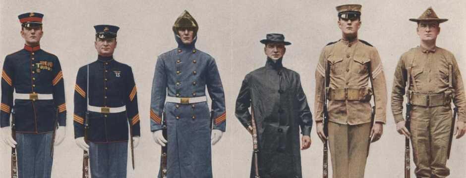 marine corps pre 1912