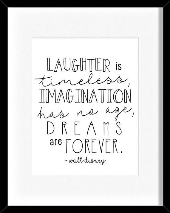 Walt Disney Quote INSTANT DOWNLOAD | Etsy