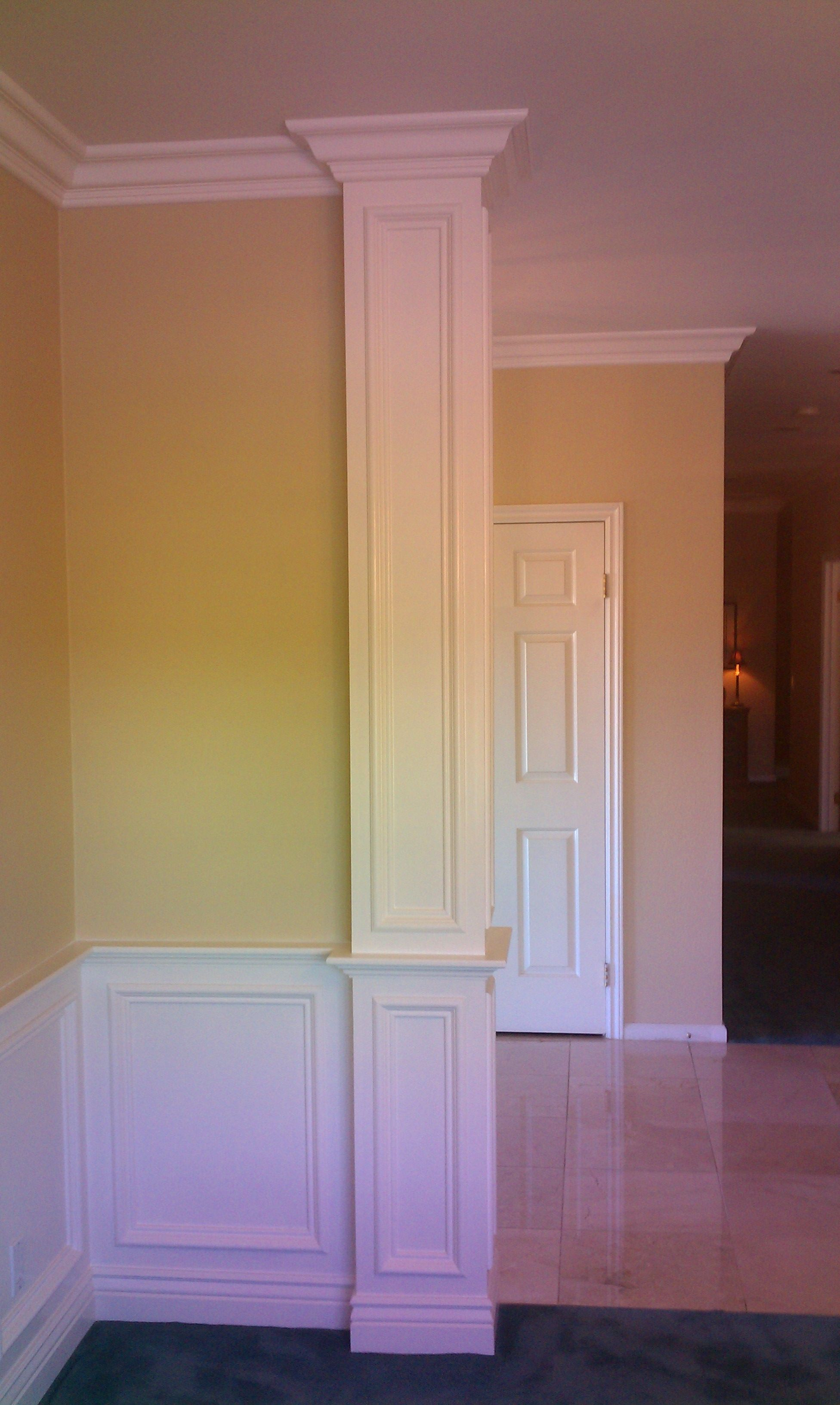 Column Molding Ideas Crown Moulding On Columns Google Search For The Home