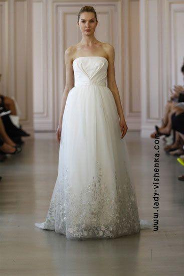 21. Weiße brautkleider Oscar De La Renta | Brautkleider | Pinterest ...