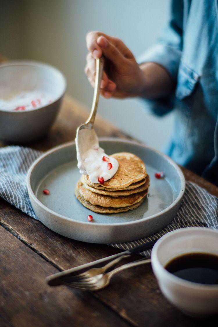 oat milk gluten free pancakes