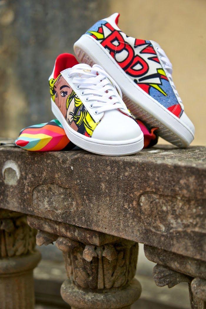 sneakers moa master of arts - pop art - shoes  f0eae407955