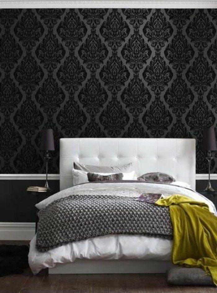 les papiers peints design en 80 photos magnifiques papier peint design chantemur papier peint. Black Bedroom Furniture Sets. Home Design Ideas