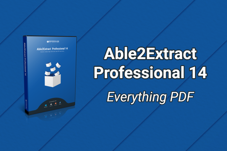The New Able2Extract Professional 14: Sign PDFs, Perform AI