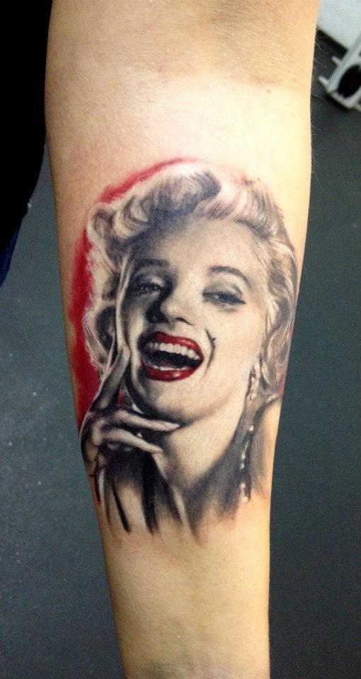 cc6ce3e5e Adam Kremer - Marilyn Monroe Pin Up Tattoo | Tattooos!!!! | Marilyn ...