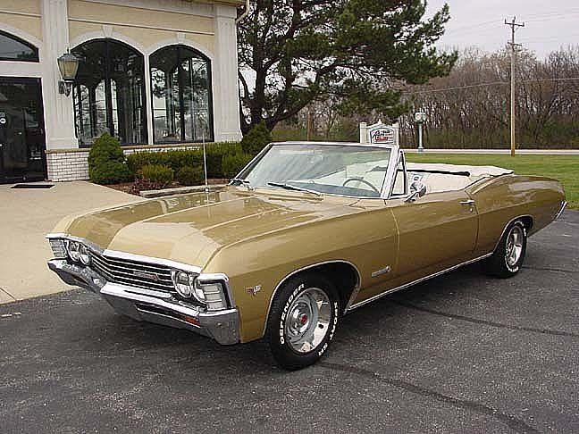 1969 Pontiac Bonneville Convertible Chevrolet Impala Classic