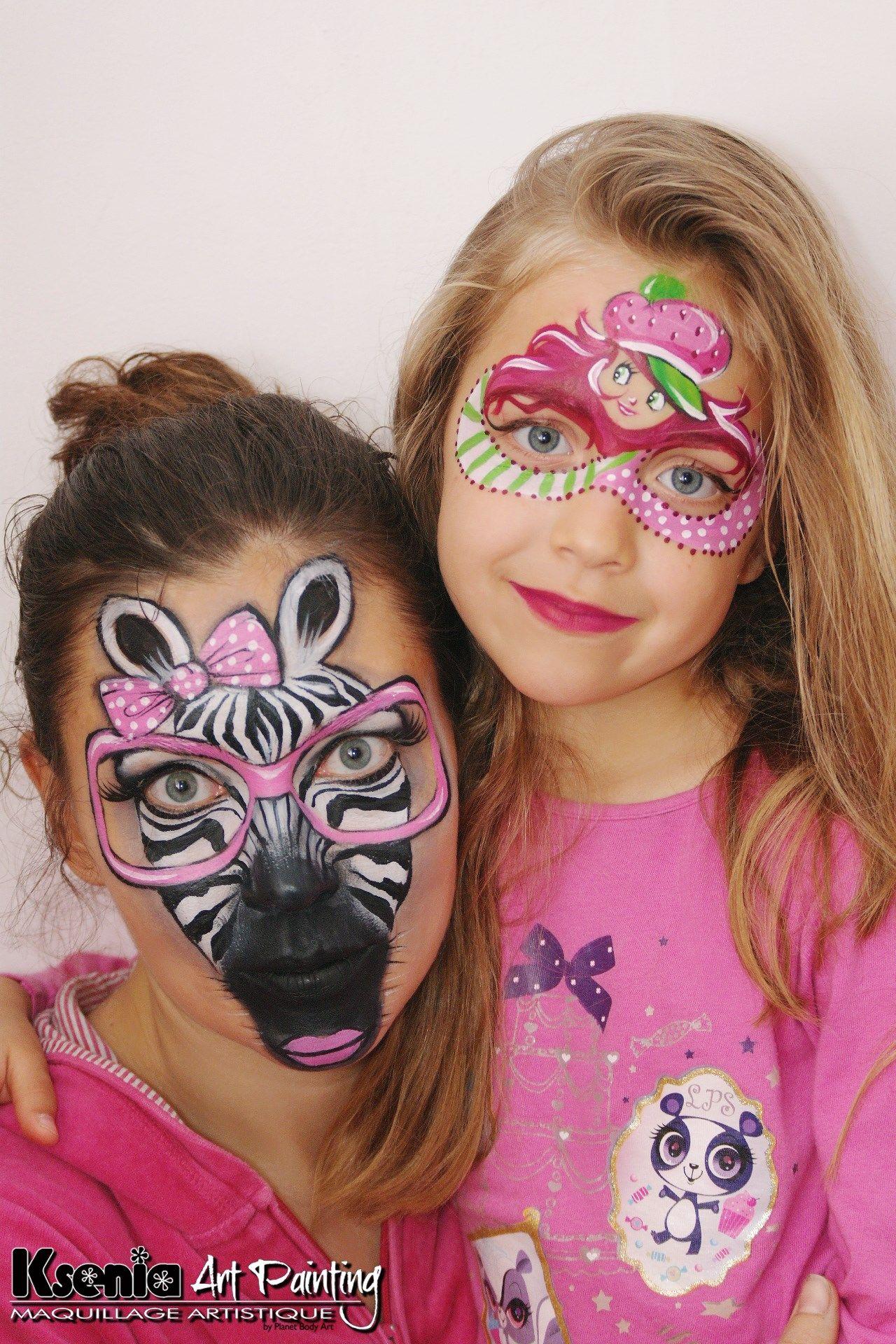 Ksenia Giraf | Halloween Face paint | Face painting designs
