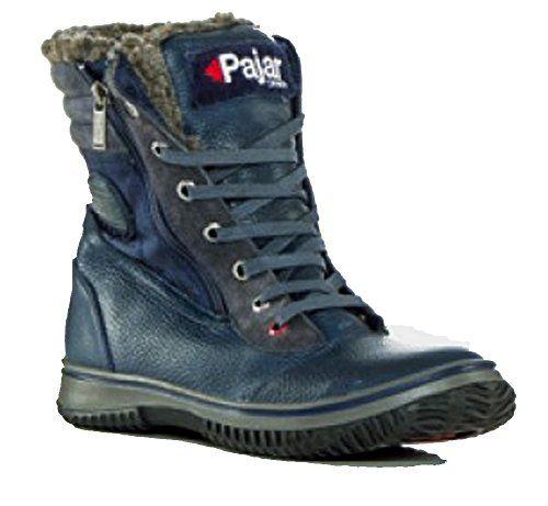 Mens Brent Ankle Boots, Dark Brown, 40 European US Pajar
