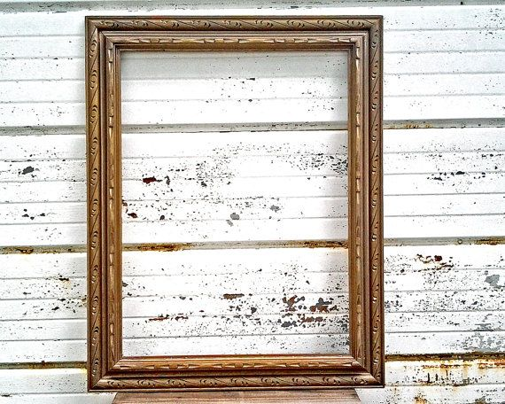 18x24 Gold Bronze Frame Rustic Vintage by TheDistressingGirl ...
