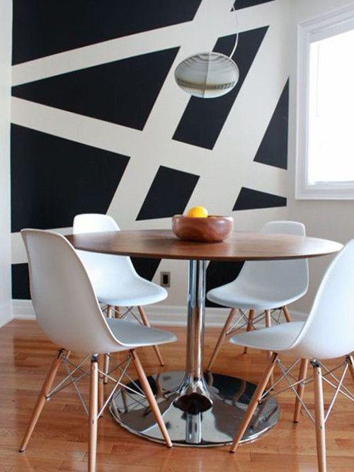12 paredes en blanco y negro nada discretas - Pintar paredes blancas ...