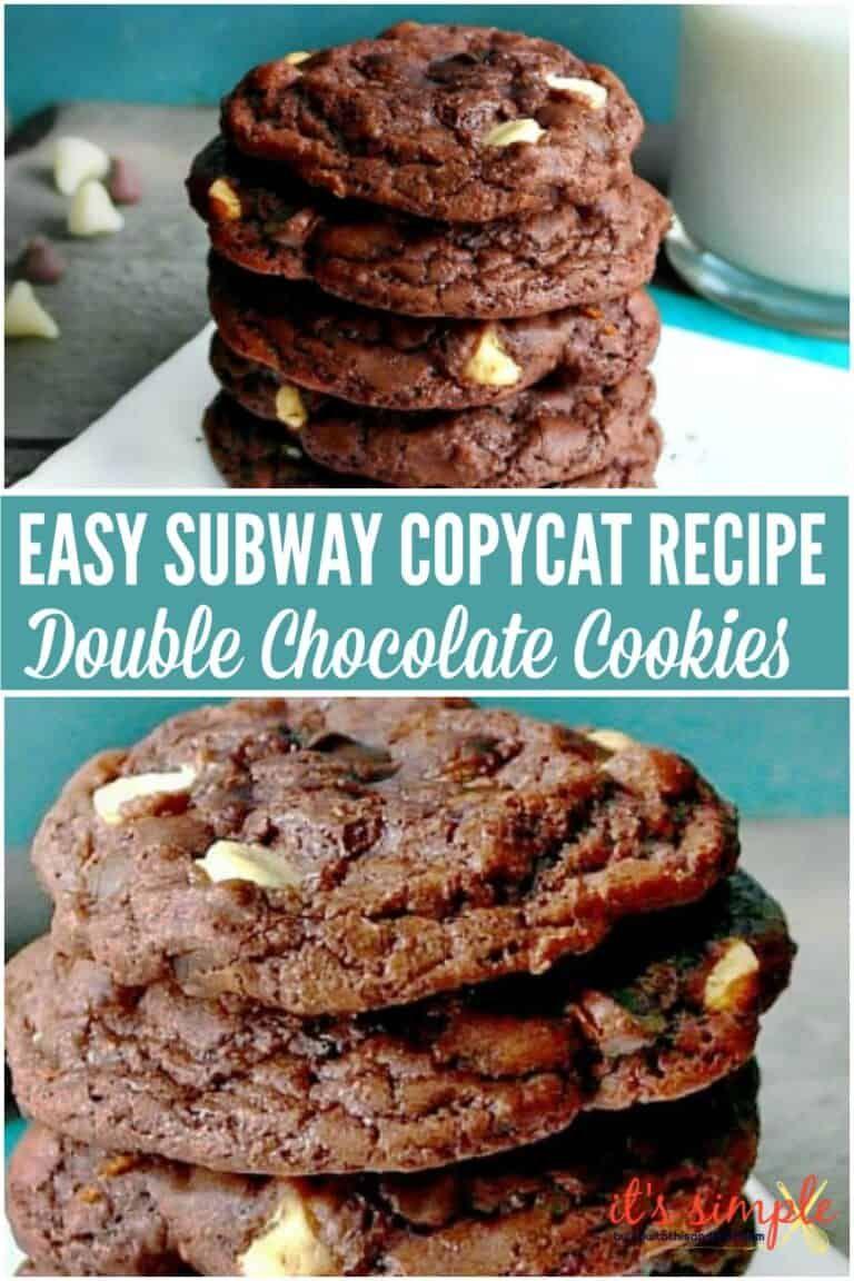 Photo of Subway Copycat Double Chocolate Cookies Recipe