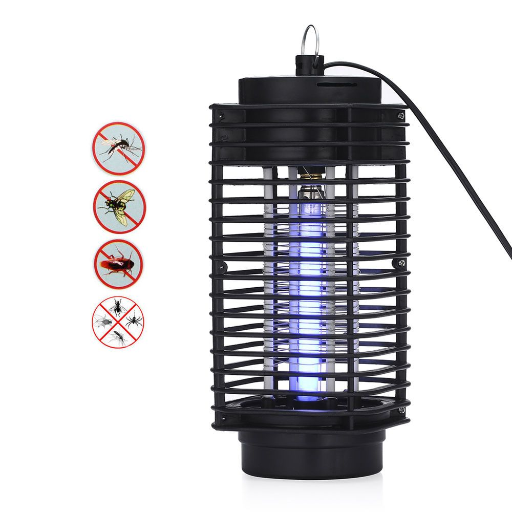 120v Electric Bug Zapper Insect Mosquito Flying Pest Killer Led With Circuitboardinsectkillerjpg Trap Lamp Unbranded