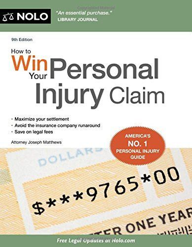 How To Win Your Personal Injury Claim In 2020 Personal Injury Claims Personal Injury Ebook